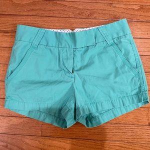 J. Crew Classic Twill Chino Shorts Size 0